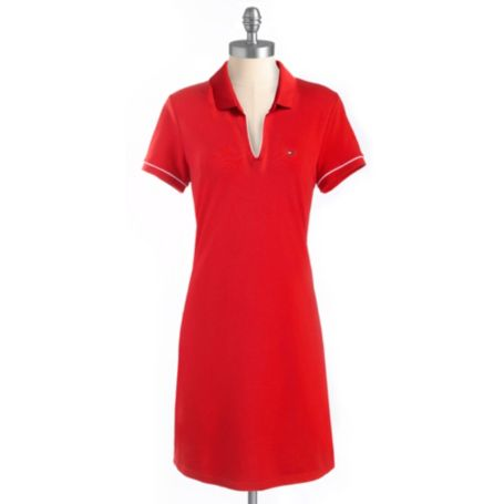 Image for KNIT POLO DRESS from Tommy Hilfiger USA
