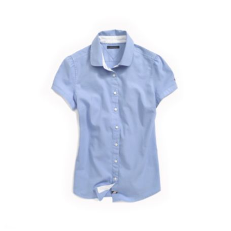Image for SHORT SLEEVE CLASSIC OXFORD SHIRT from Tommy Hilfiger USA