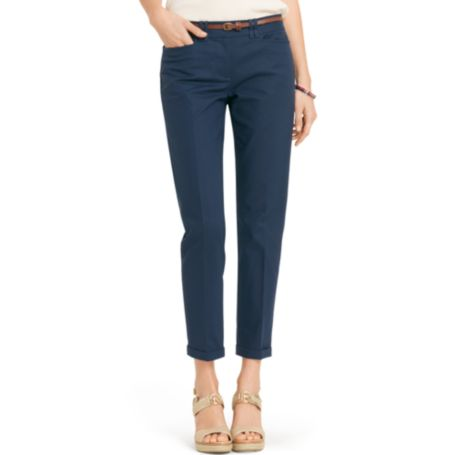 Image for CLASSIC FIT CUFFED ANKLE PANT from Tommy Hilfiger USA