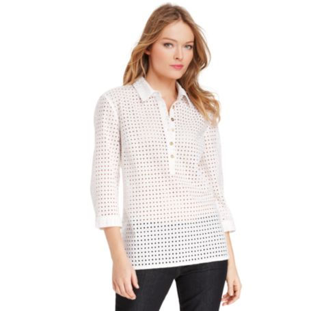 Image for EYELET TUNIC from Tommy Hilfiger USA