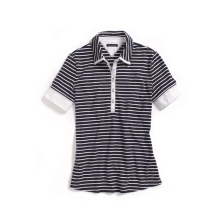 Image for THIN STRIPE POLO from Tommy Hilfiger USA
