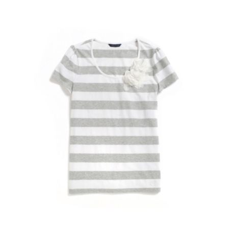 Image for APPLIQUE STRIPE TEE from Tommy Hilfiger USA