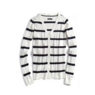 STRIPE CABLE CARDIGAN $44.99