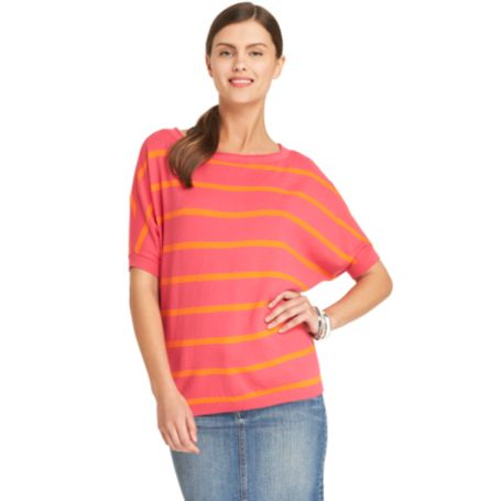 Image for STRIPE BATWING SWEATER from Tommy Hilfiger USA