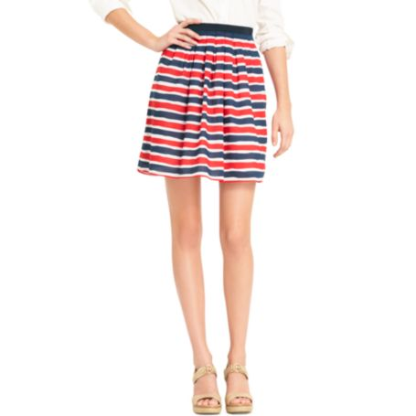 Image for MULTI STRIPE SKIRT from Tommy Hilfiger USA