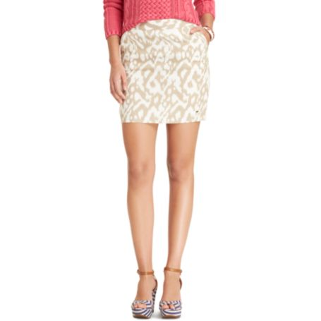 Image for IKAT PRINT SKIRT from Tommy Hilfiger USA