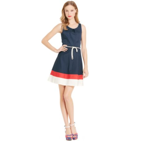 Image for SLEEVELESS COLORBLOCK DRESS from Tommy Hilfiger USA