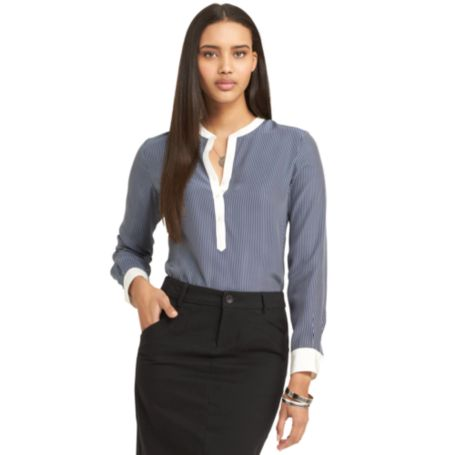 Image for LONG SLEEVE BLOUSE from Tommy Hilfiger USA