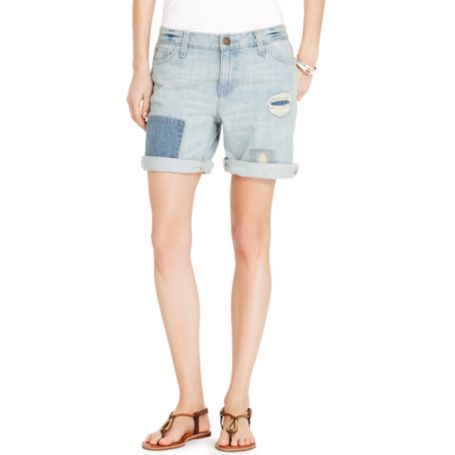 Image for RIP & REPAIR BOYFRIEND SHORT from Tommy Hilfiger USA