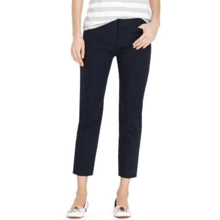 Image for DOUBLE CLOTH CROP PANT from Tommy Hilfiger USA