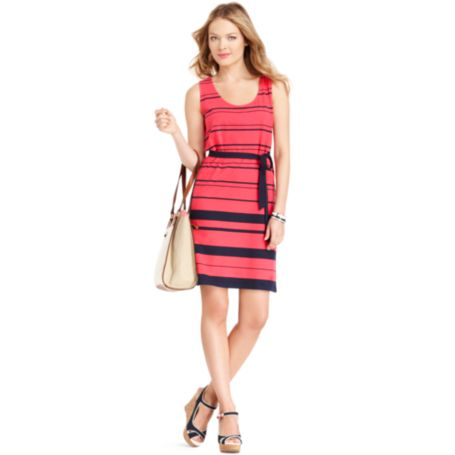 Image for STRIPE TANK DRESS from Tommy Hilfiger USA