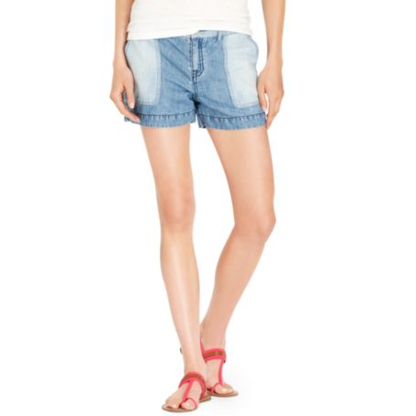 Image for MIXED CHAMBRAY SHORT from Tommy Hilfiger USA