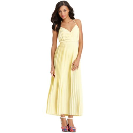 Image for PLEATED MAXI DRESS from Tommy Hilfiger USA