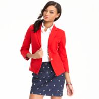 TWO BUTTON PLEATED BLAZER $148.00