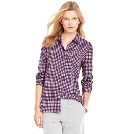 Image for BUTTON FRONT BLOUSE from Tommy Hilfiger USA