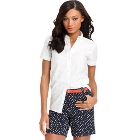 Image for BLOCKED BUTTON FRONT SHIRT from Tommy Hilfiger USA