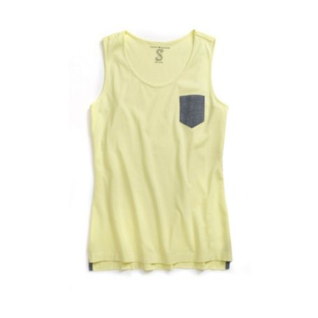 Image for PATCHED POCKET TANK from Tommy Hilfiger USA