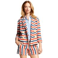 HORIZONTAL STRIPE JACKET $89.97