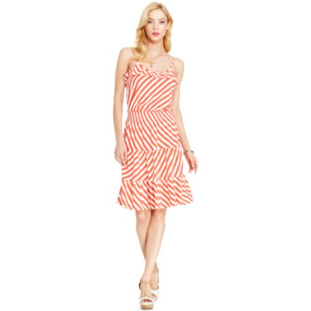 Image for RUFFLE KNIT DRESS from Tommy Hilfiger USA