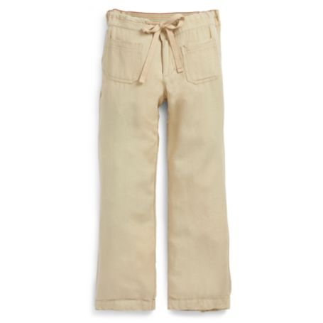Image for LINEN CROP PANT from Tommy Hilfiger USA