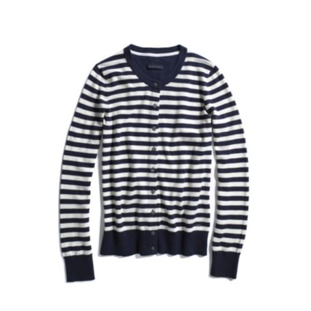 Image for LONG SLEEVE STRIPE CARDIGAN from Tommy Hilfiger USA