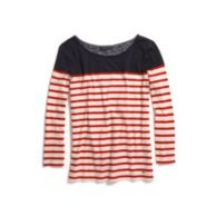 STRIPE KNIT TOP $44.50