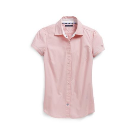 Image for SOLID OXFORD SHIRT from Tommy Hilfiger USA