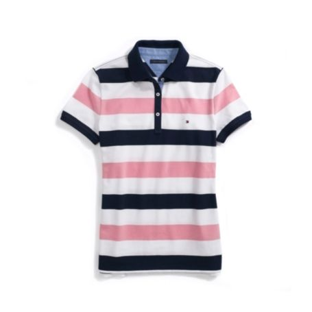 Image for STRIPE EASY FIT POLO from Tommy Hilfiger USA