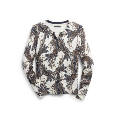 Image for PAISLEY PRINT CARDIGAN from Tommy Hilfiger USA