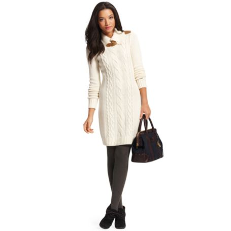Image for SWEATER DRESS WITH BUCKLE DETAIL from Tommy Hilfiger USA