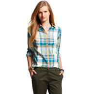 MULTI CHECK SHIRT $89.00