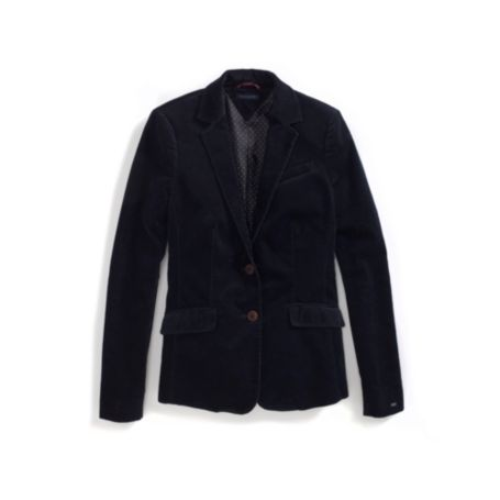 Image for CORDUROY NEW YORK SOLID BLAZER from Tommy Hilfiger USA
