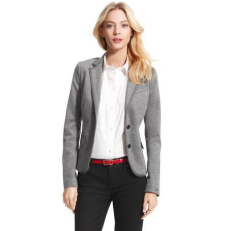 Image for PONTE SOLID BLAZER from Tommy Hilfiger USA