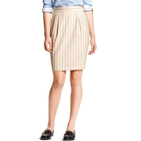 Image for STRIPE TROUSER PENCIL SKIRT from Tommy Hilfiger USA