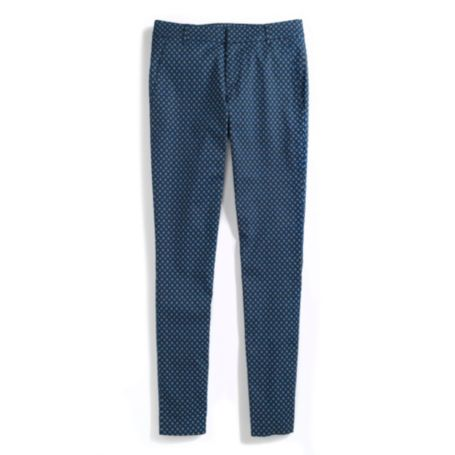 Image for STRETCH TWILL SKINNY PRINTED FOULARD PANT from Tommy Hilfiger USA
