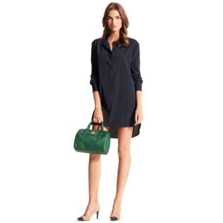 Image for RACING-STRIPE SHIRTDRESS from Tommy Hilfiger USA