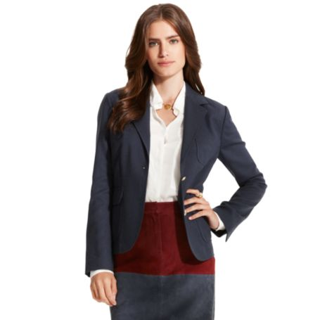 Image for SOLID ZIP BACK BLAZER from Tommy Hilfiger USA