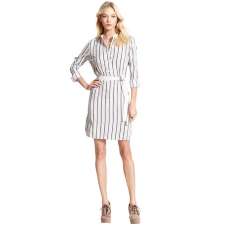 Image for TWO TONED SLEEVLESS DRESS from Tommy Hilfiger USA