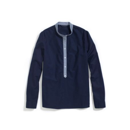 Image for HALF PLACKET SHIRT from Tommy Hilfiger USA