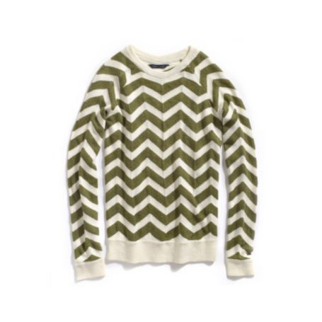 Image for ZIG ZAG CHEVRON LONG SLEEVE SWEATER from Tommy Hilfiger USA