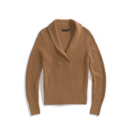 Image for V-NECK SHAWL SWEATER from Tommy Hilfiger USA