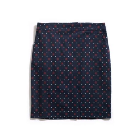 Image for PRINTED SATEEN SKIRT from Tommy Hilfiger USA