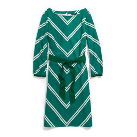 Image for CHEVRON STRIPE SHIFT DRESS from Tommy Hilfiger USA