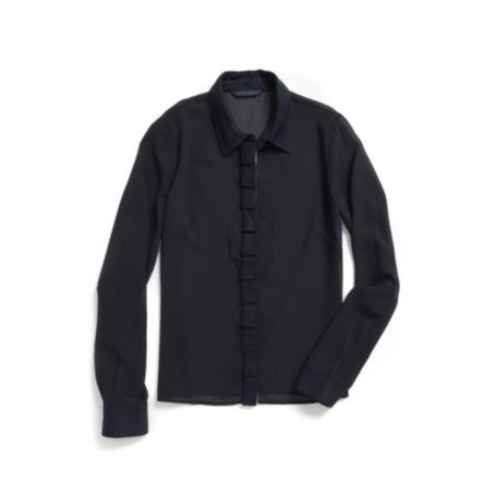 Image for RUFFLE LONG SLEEVE SHIRT from Tommy Hilfiger USA