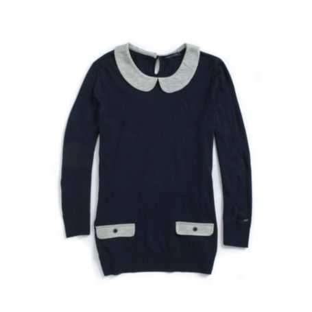Image for SHORT SLEEVE COLORBLOCK SWEATER from Tommy Hilfiger USA