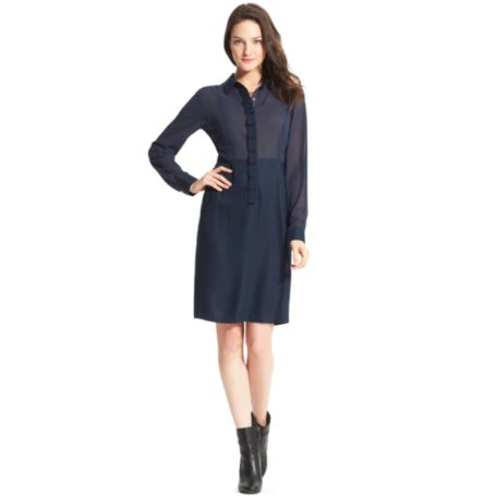 Image for RUFFLE DRESS from Tommy Hilfiger USA