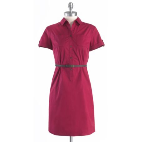 Image for BELTED SHIRT DRESS from Tommy Hilfiger USA