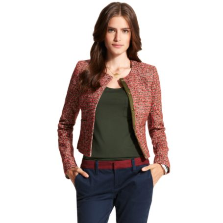 Image for BOUCLE JACKET from Tommy Hilfiger USA