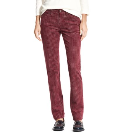 Image for DIAMOND PRINTED ROME SLIM PANT from Tommy Hilfiger USA