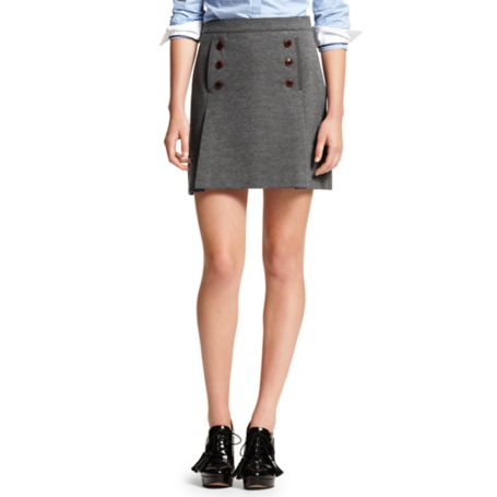 Image for SOLID PONTE SKIRT from Tommy Hilfiger USA